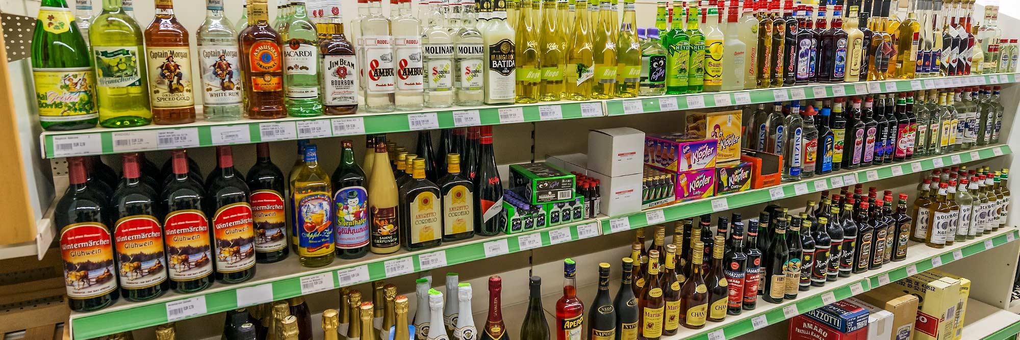 Raiffeisen Markt Ottmarsbocholt Spirituosen