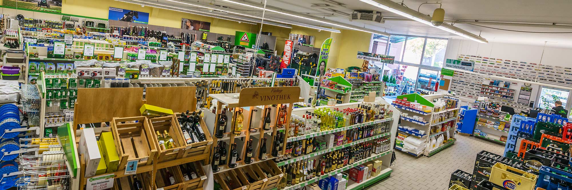Raiffeisen Markt Ottmarsbocholt Innen
