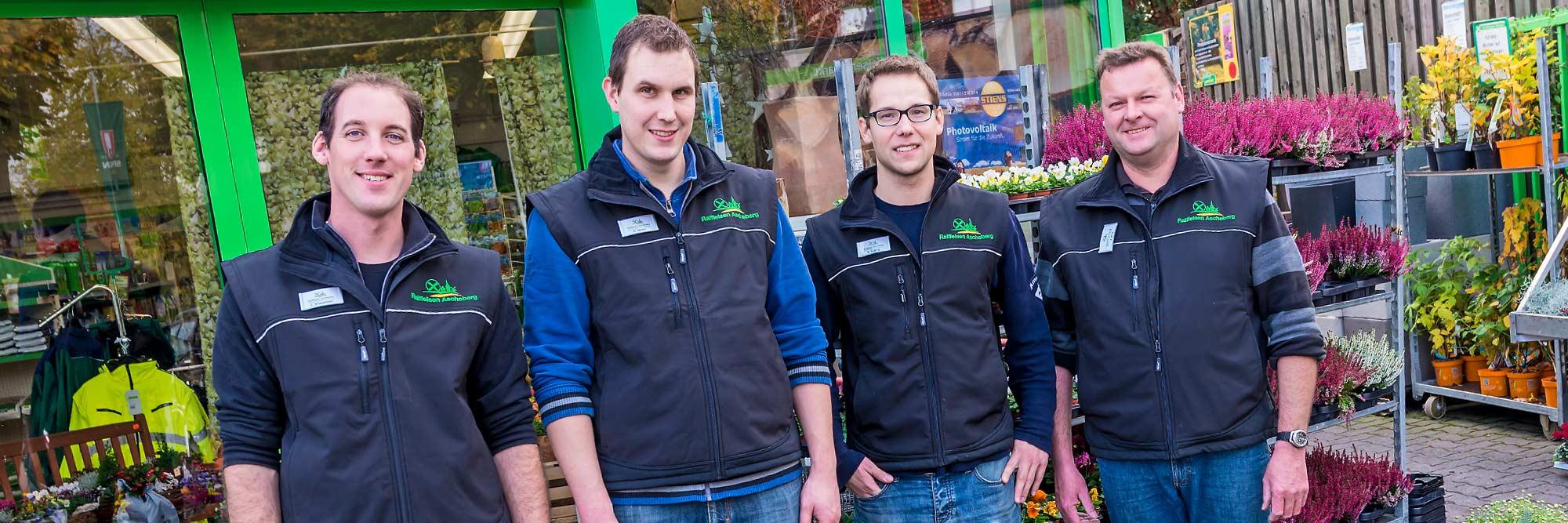 Raiffeisen Markt Rinkerode Gruppenfoto