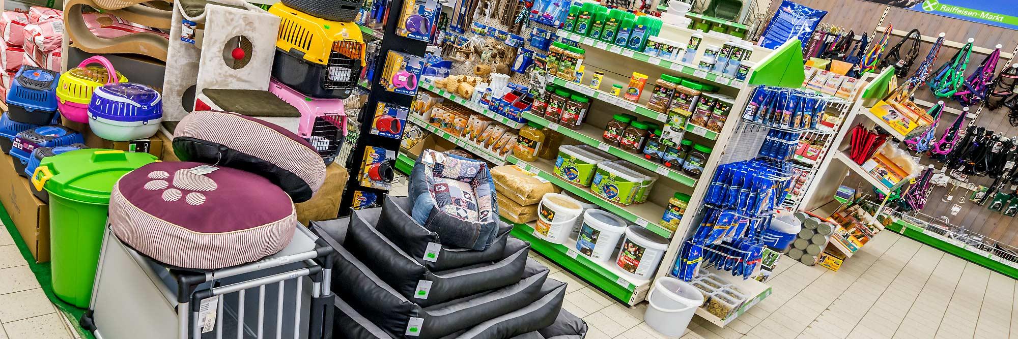 Raiffeisen Markt Ottmarsbocholt Tierboxen