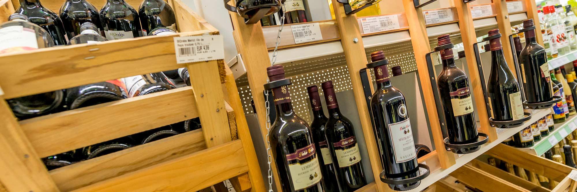 Raiffeisen Markt Ottmarsbocholt Wein