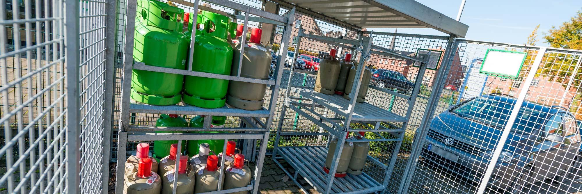Raiffeisen Markt Ottmarsbocholt Gasverkauf
