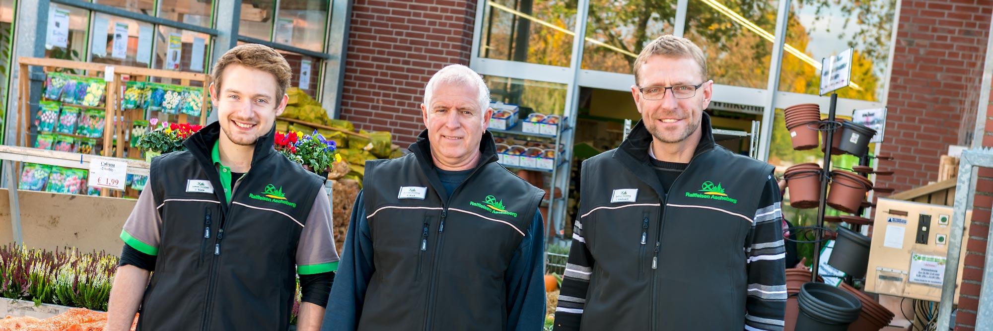 Raiffeisen Markt Ottmarsbocholt Team