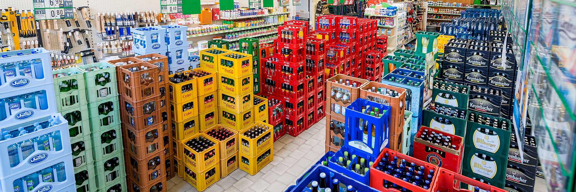 Raiffeisen Markt Rinkerode Getränke