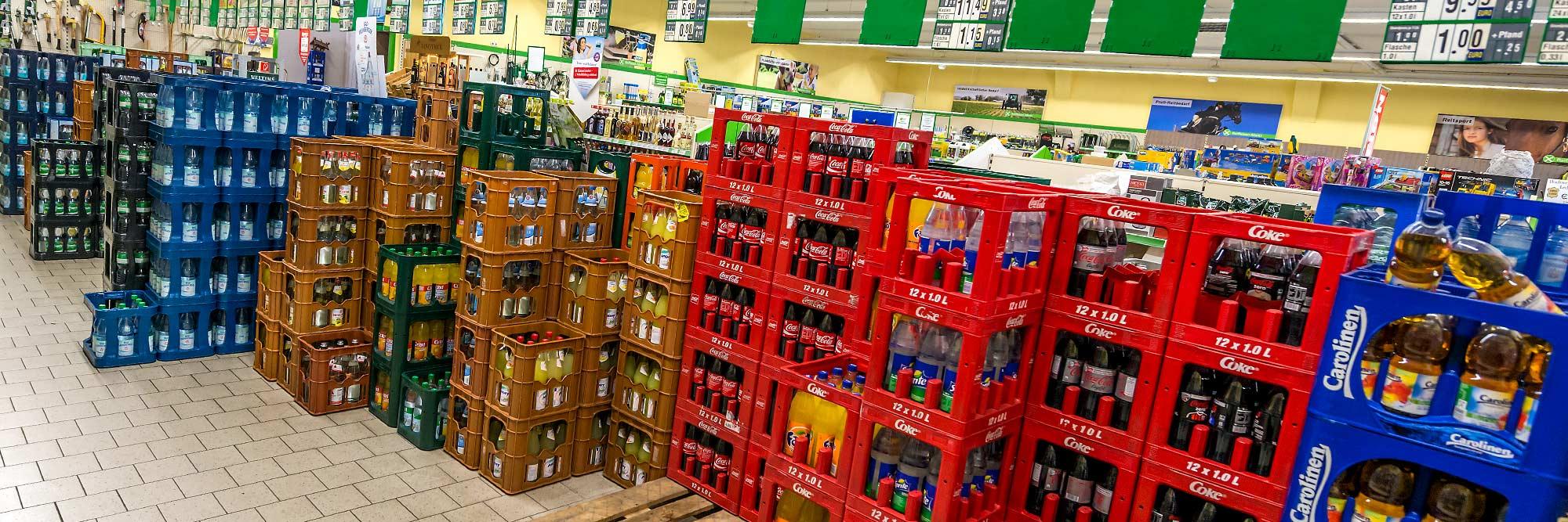 Raiffeisen Markt Ottmarsbocholt Getränke