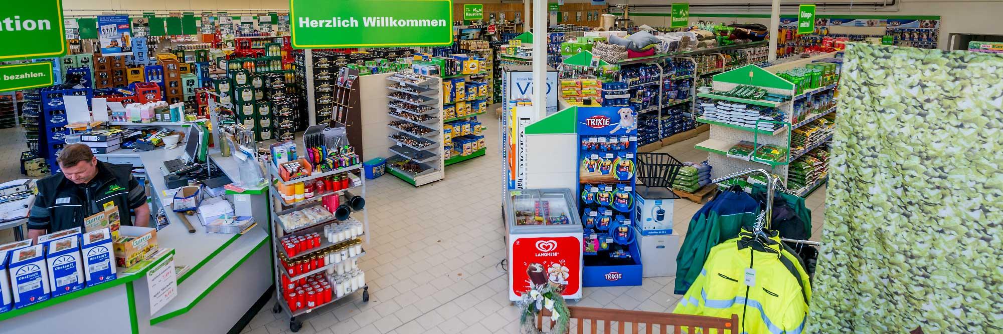Raiffeisen Markt Rinkerode Übersicht