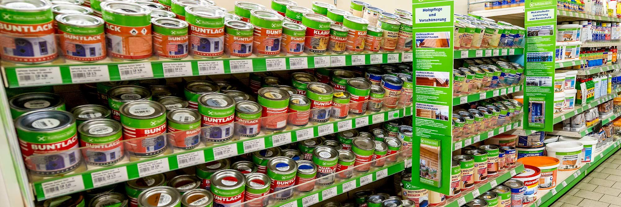 Raiffeisen Markt Ottmarsbocholt Farben und Lacke