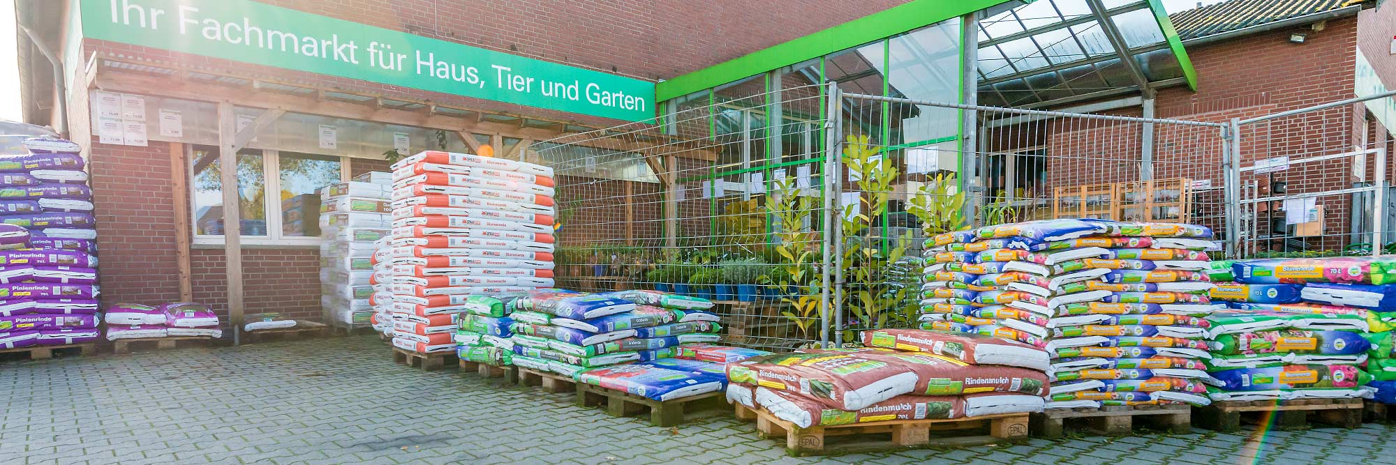 Raiffeisen Markt Ottmarsbocholt Erde und Mulch