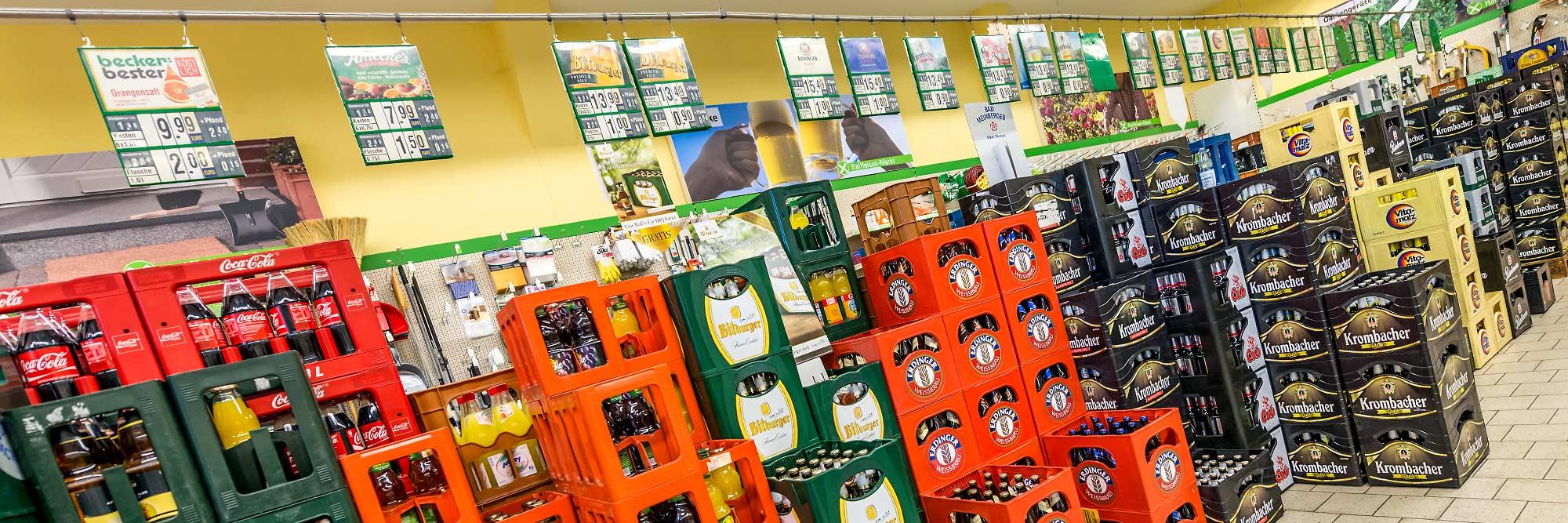 Raiffeisen Markt Ottmarsbocholt Getränke 2