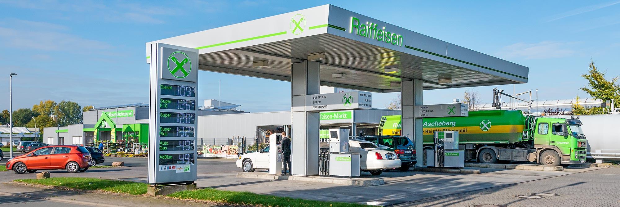 Raiffeisen Ascheberg Tankstelle